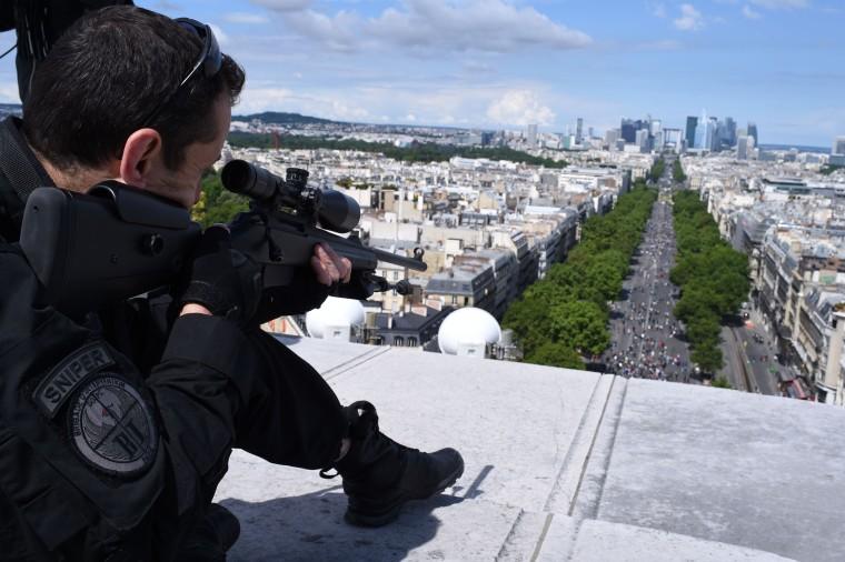 Image: TOPSHOT-FRANCE-BASTILLE-DAY-PARADE