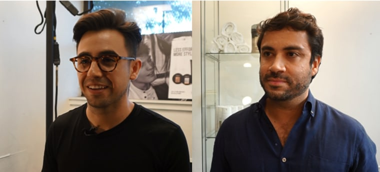 Carlos Garciavelez (left) and George Sotelo (right)