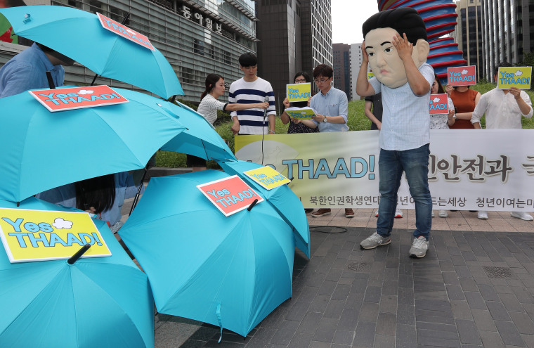 Image: Conservative youth groups back THAAD deployment