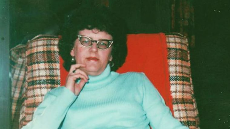 Helen Dymond never left the house without lipstick, her grand daughters said.