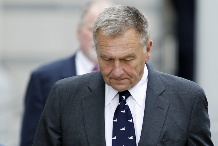 Image: Samson exits Newark federal court in New Jersey