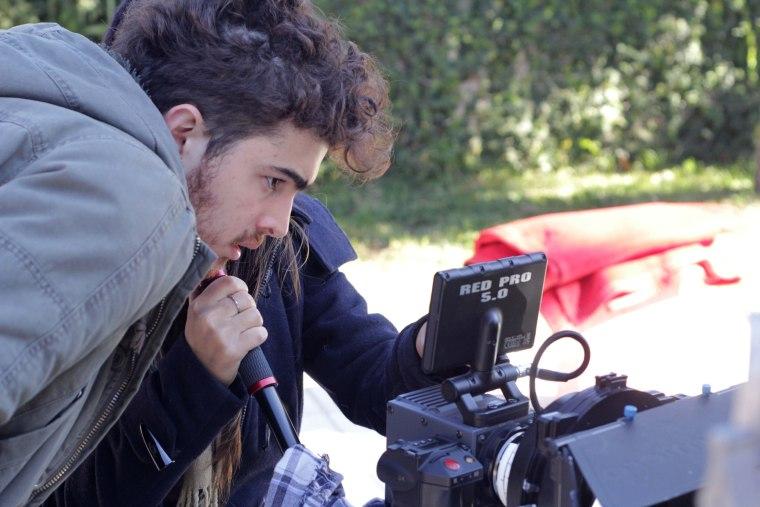 Filmmaker Nicolas Tete