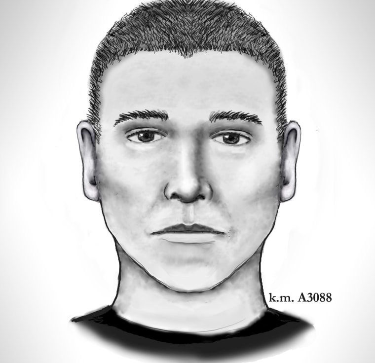 Police released this sketch of a suspect in a series of killings in Phoenix.