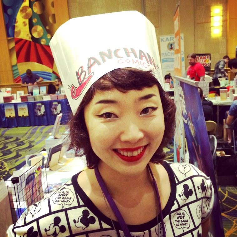 "Robin Ha, whose blog ""Banchan in 2 Pages"" presents Korean recipe comics."