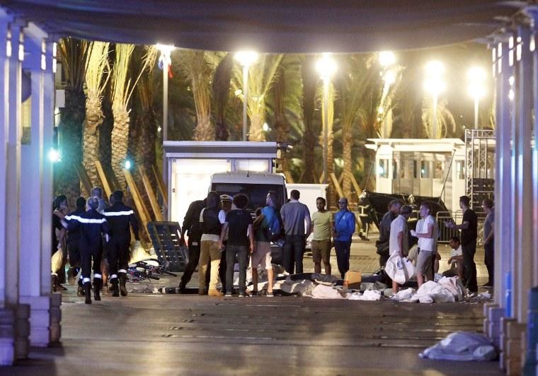 Image: Truck Attack Kills Dozens In Nice France