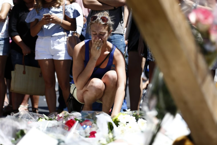 Image: Nice Bastille Day celebrations terror truck attack aftermath
