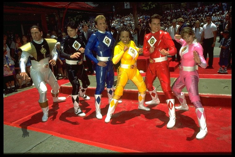 "Stars of ""Mighty Morphin Power Rangers"""