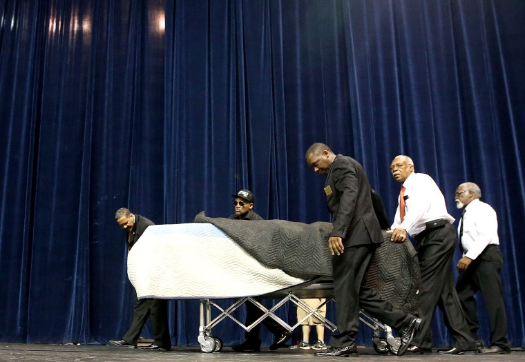 Image: Funeral Held For Baton Rouge Police Shooting Victim Alton Sterling