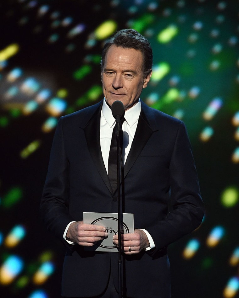 Actor Bryan Cranston speaks onstage during the 2016 ESPYS at Microsoft Theater on July 13, 2016 in Los Angeles, California.