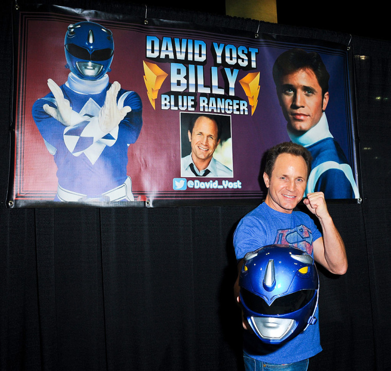 Actor David Yost attends the Third Annual Stan Lee's Comikaze Expo held at Los Angeles Convention Center on November 1, 2014.