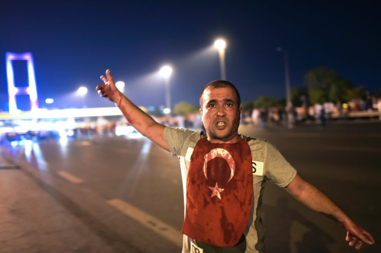 Image: TURKEY-POLITICS-MILITARY-COUP