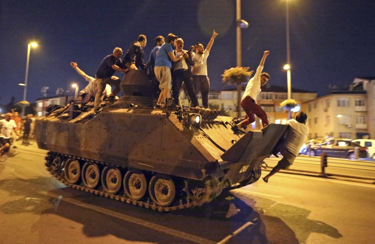 Image: Attempted coup d'etat in Turkey