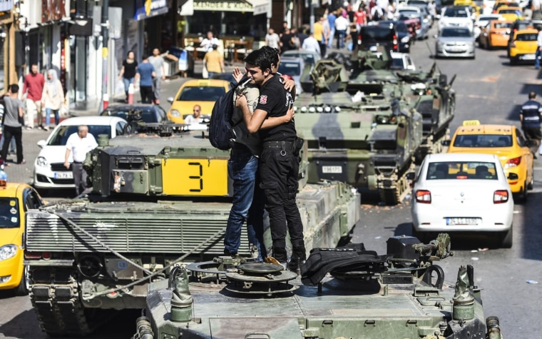 Image: TURKEY-POLITICS-MILITARY-COUP
