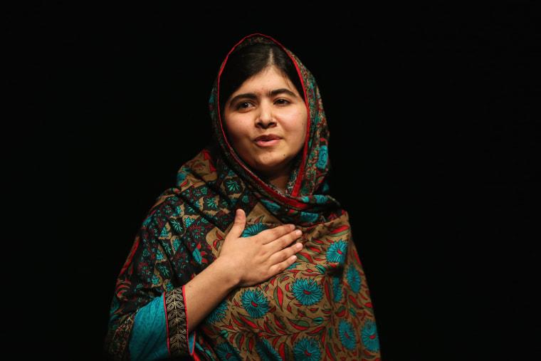 Image: Malala Yousafzai Wins Nobel Peace Prize