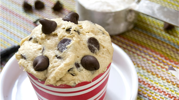 Doliciously Edible Classic Chocolate Chip Cookie Dough