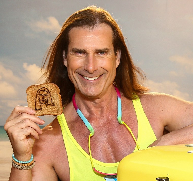 Fabio debuts I Can't Believe It's Not Butter toaster