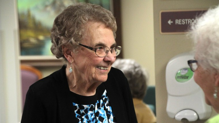 Alice Graber worked as a nurse for 72 years before retiring