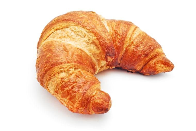 """Croissant (""""kwah-SAHN""""; """"KWAH-sawn""""; """"kruh-SAHNT"""")"""