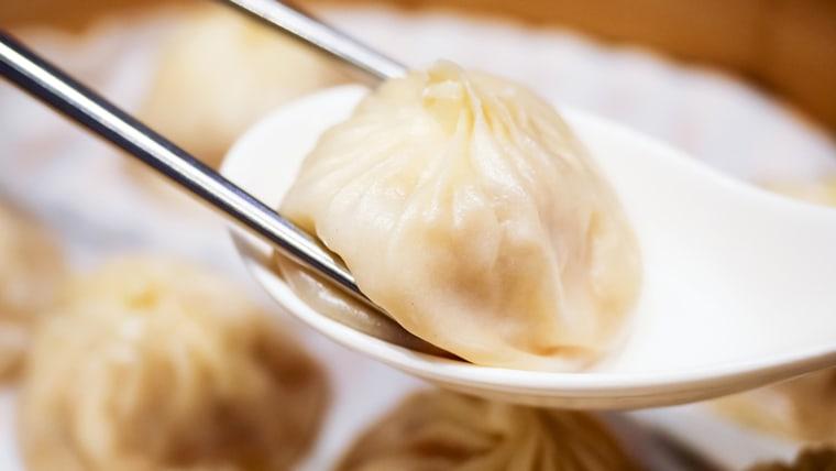 """Xiao Long Bao (\""""shao-long-bow\"""") aka Soup Dumplings"""