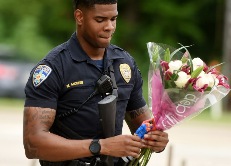 IMAGE: Baton Rouge police officer