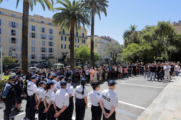 Image: FRANCE-ATTACK-NICE-CEREMONY
