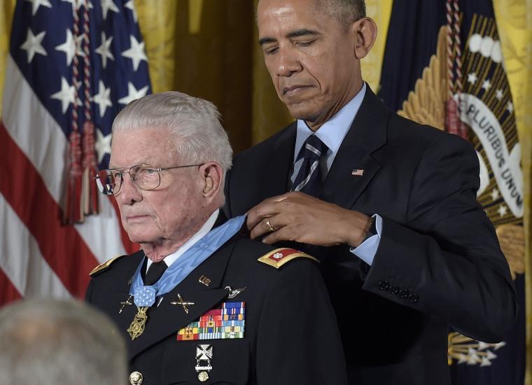 Image: Barack Obama, Charles Kettles