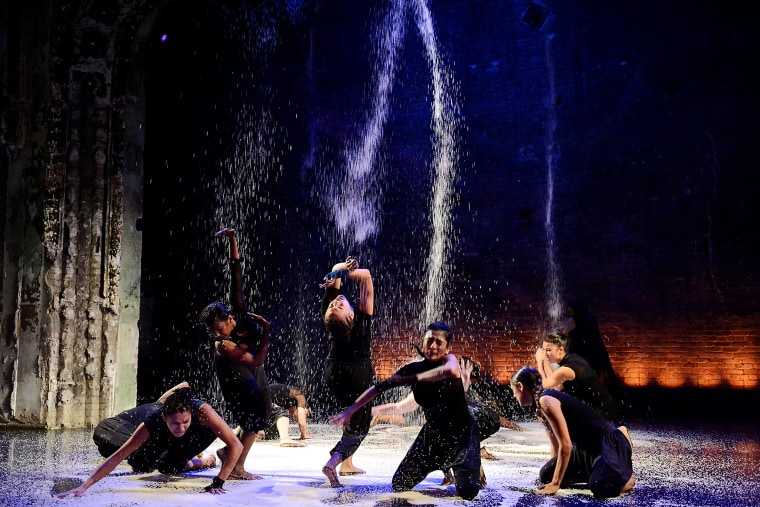 The Ananya Dance Theatre during one of their performances. The company is currently crowdfunding their next project.