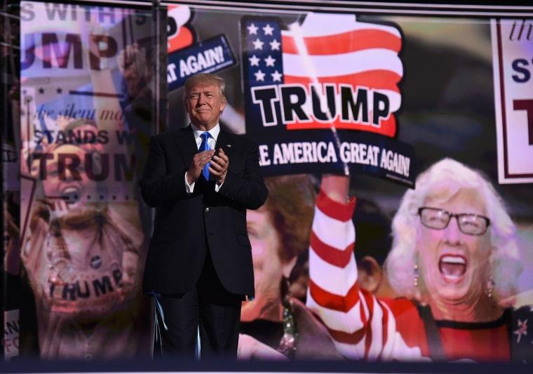 Image: TOPSHOT-US-VOTE-REPUBLICANS-CONVENTION