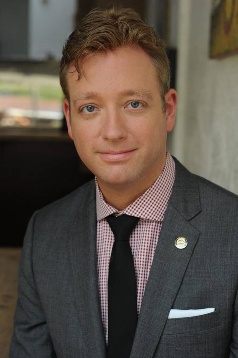 Log Cabin Republicans President Gregory T. Angelo.