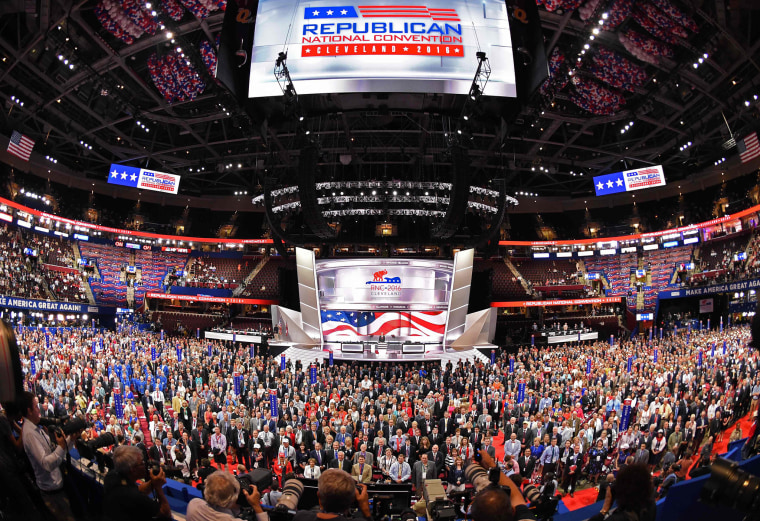 Image: TOPSHOT-US-VOTE-REPUBLICANS-CONVENTION
