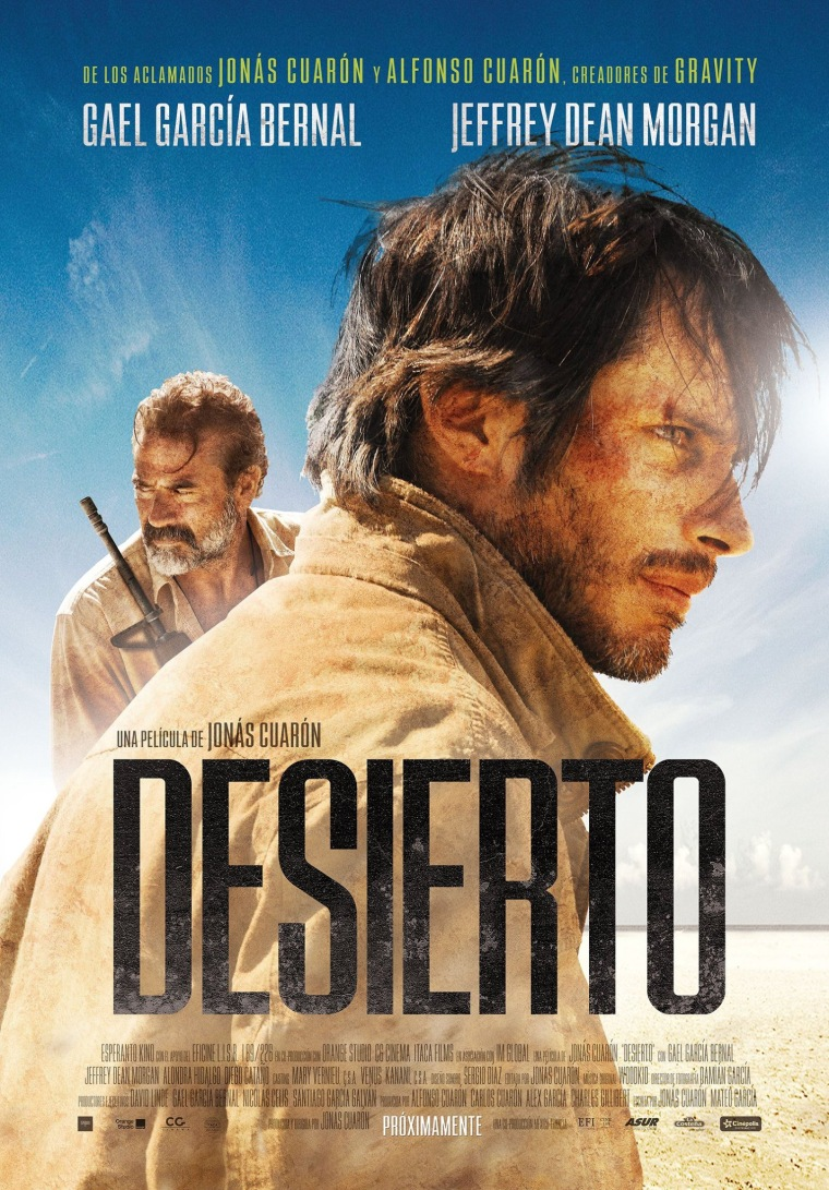 Desierto - Gael Garcia Bernal Movie Poster
