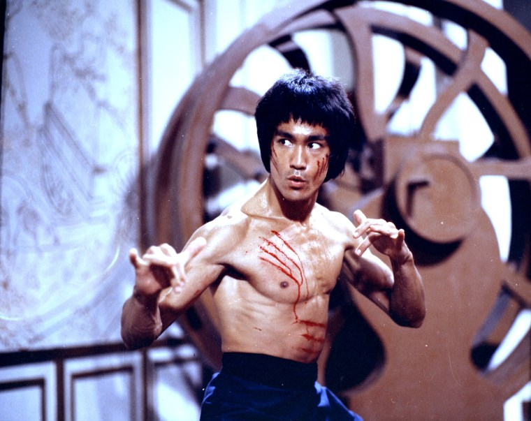 "Bruce Lee in 1973's ""Enter the Dragon."" (All photos supplied courtesy of the Bruce Lee Foundation. The Bruce Lee name, image, likeness and all related indicia are intellectual property of Bruce Lee Enterprises, LLC.  All Rights Reserved. www.brucelee.com.)"