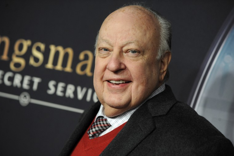 Roger Ailes attending the 'Kingsman: The Secret Service' New York premiere at SVA Theater on February 9, 2015 in New York City.