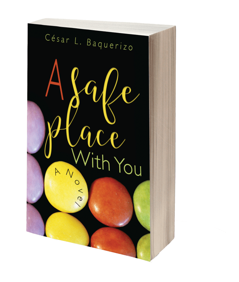 "Cover of C?sar L. Bauqerizo's ""A Safe Place With You"""