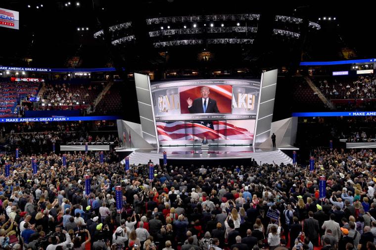 Image: US-VOTE-REPUBLICANS-CONVENTION