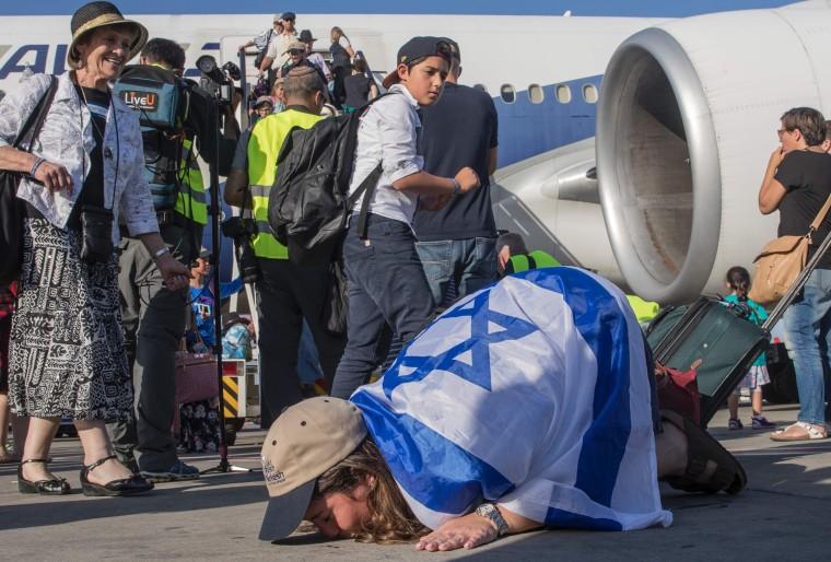 Image: TOPSHOT-ISRAEL-US-IMMIGRATION