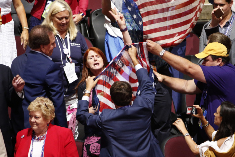 Image: RNC in Cleveland 2016