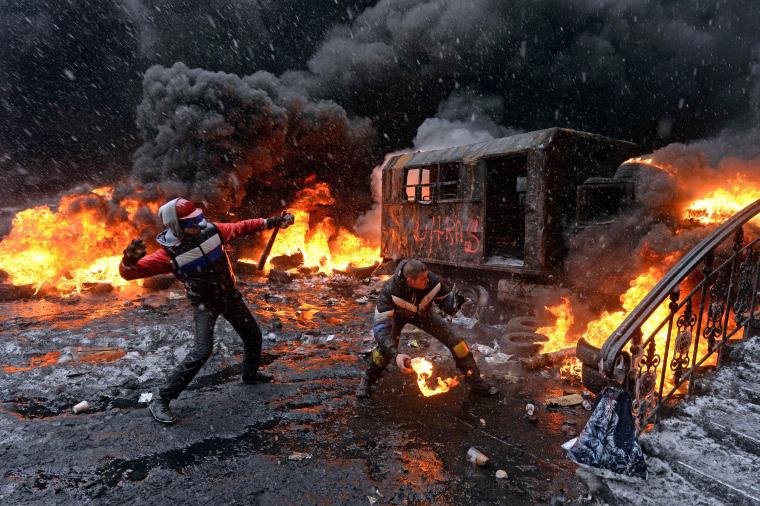 Image: TOPSHOTS 2014-UKRAINE-RUSSIA-EU-UNREST-POLITICS
