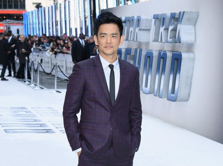 "John Cho attends the UK Premiere of Paramount Pictures ""Star Trek Beyond"" in London, England."