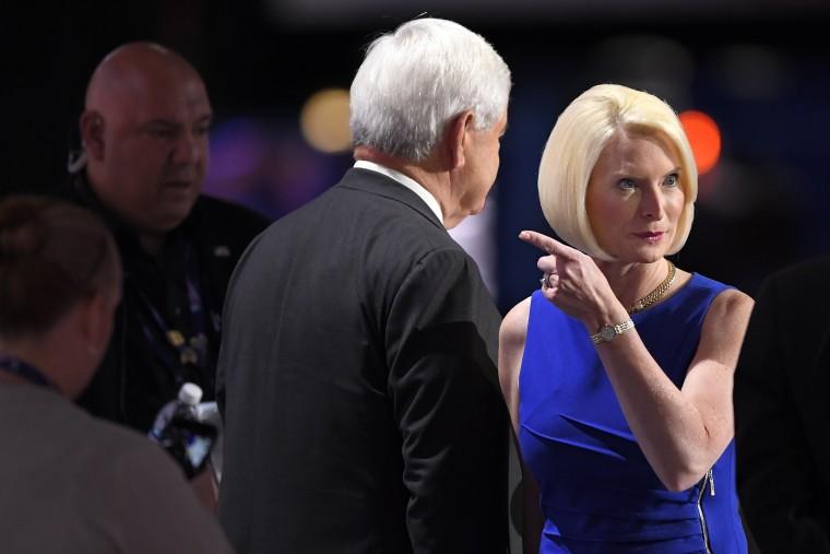 Image: Newt Gingrich, Callista Gingrich