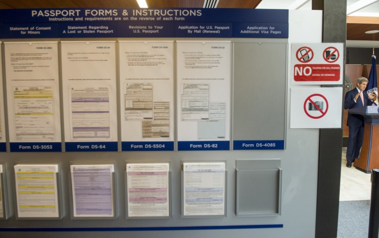 US-GOVERNMENT-PASSPORTS