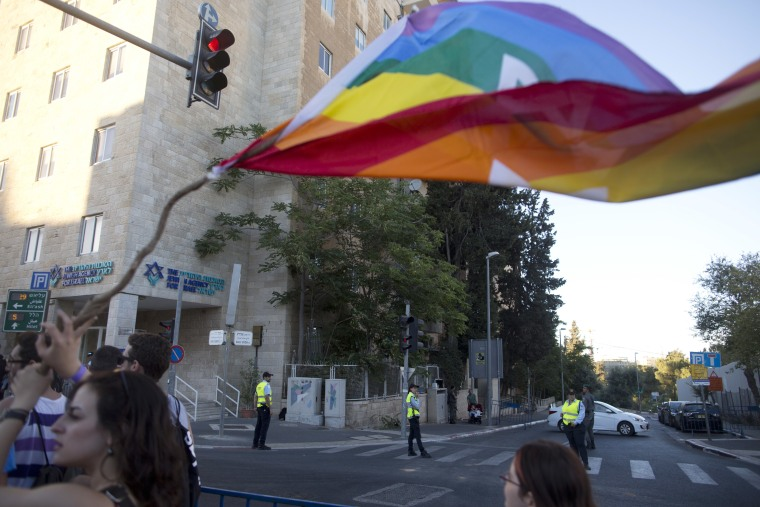 Israelis Take Part In The Annual Jerusalem Gay Parade