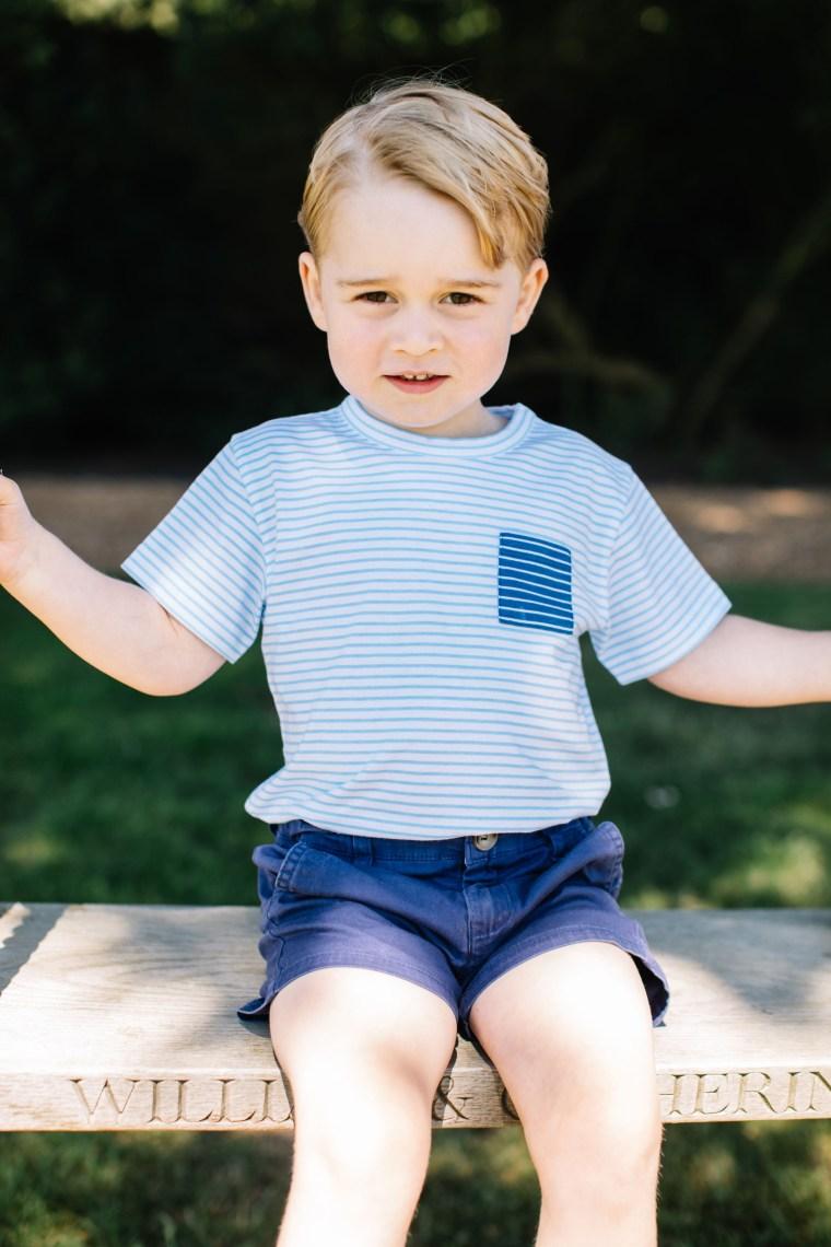 Image: Prince George's third birthday