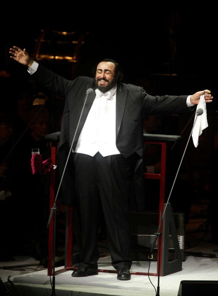 Image: Luciano Pavarotti