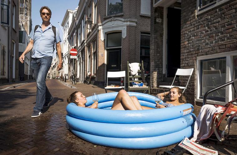 Image: Colling off in Utrecht