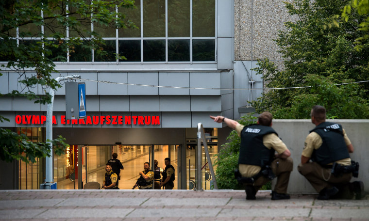 Image: Deaths Reported In Shooting at Munich Shopping Centre