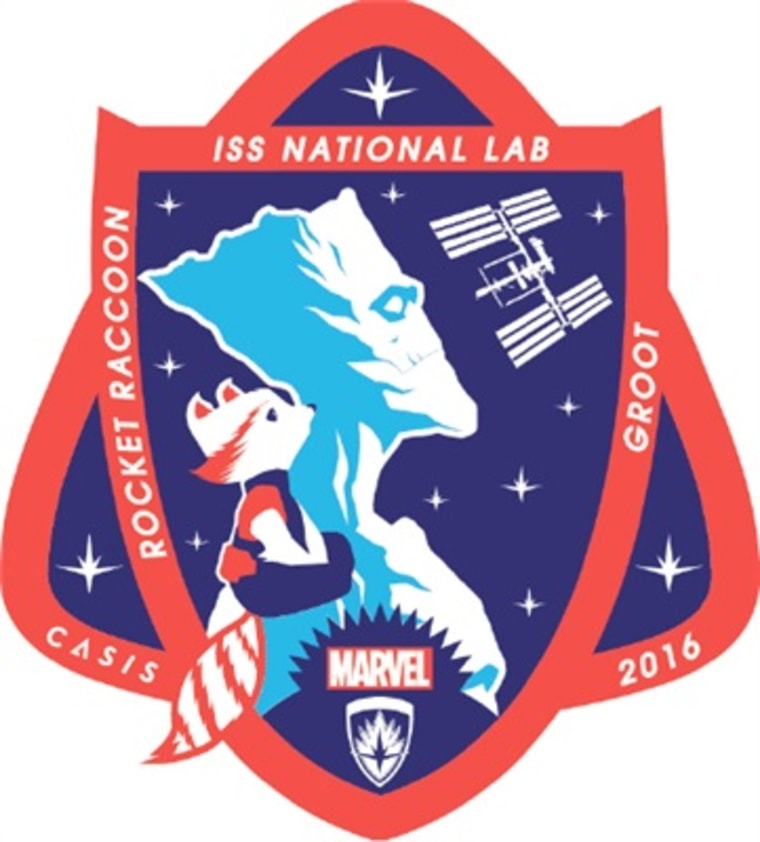 Rocket Raccoon and Groot patch