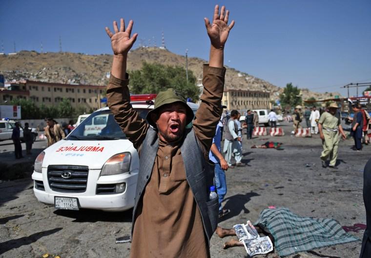 Image: AFGHANISTAN-UNREST-MINORITIES-PROTEST