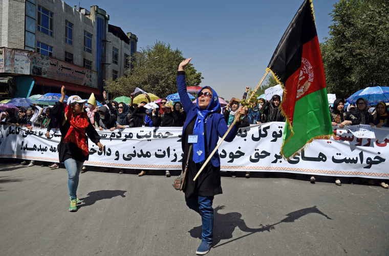 Image: AFGHANISTAN-POLITICS-PROTEST