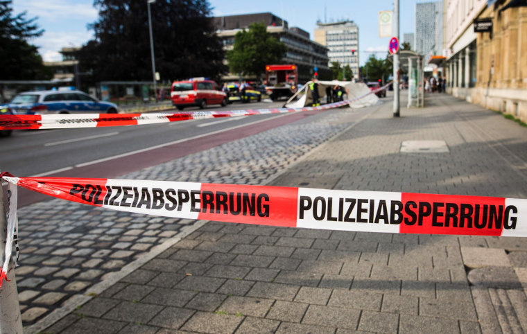 Image: GERMANY-SYRIA-CRIME-POLICE